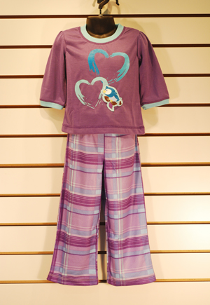 Children's FR Sleepwear 2-pc Set