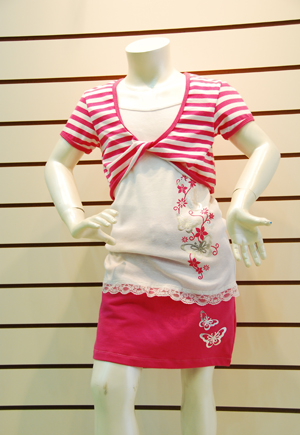 7-16 Girl's Garment - JK-004